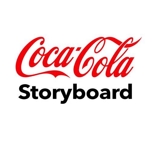 Coca Cola storyboard af Terese Andersen