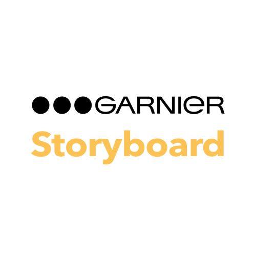 Garnier storyboard af Terese Andersen