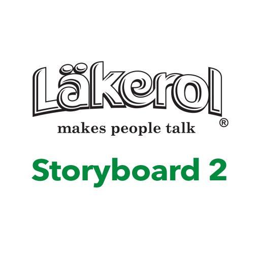Foto af Läkerol storyboard 2 af Terese-Andersen