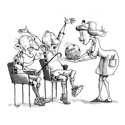 Foto af Satire Dagens Medicin af Terese Andersen
