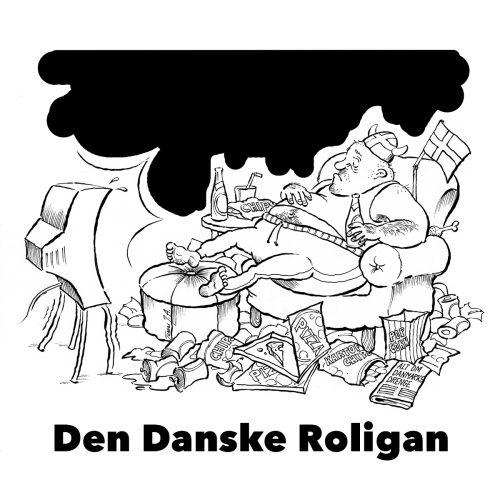 Foto af Satire Den Danske Roligan af Terese Anderse
