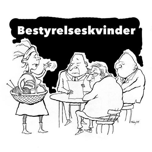 Foto af Satire Bestyrelseskvinder af Terese Andersen