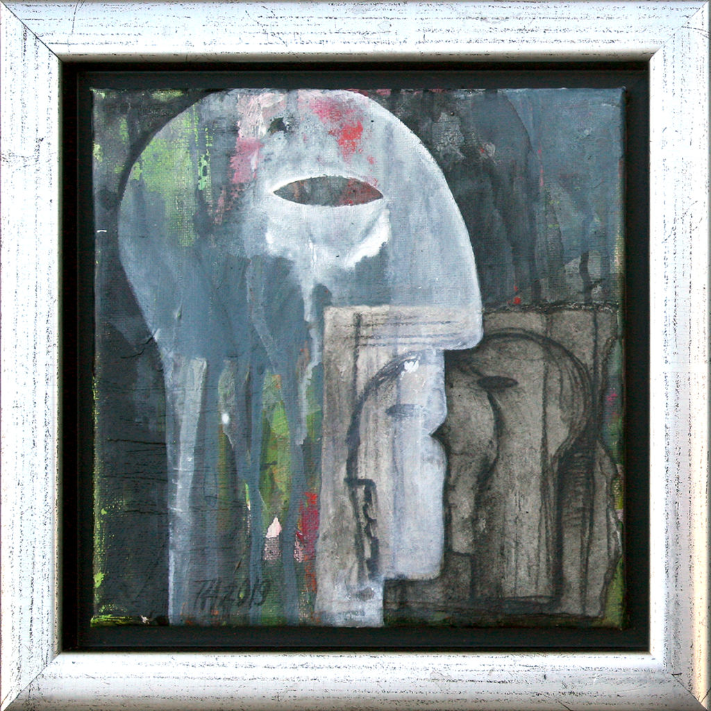 Foto af Terese Andersen Painting 20x20 Grey Two