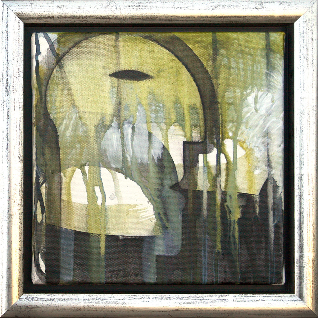 Foto af Terese Andersen Painting 25x25 Shadows