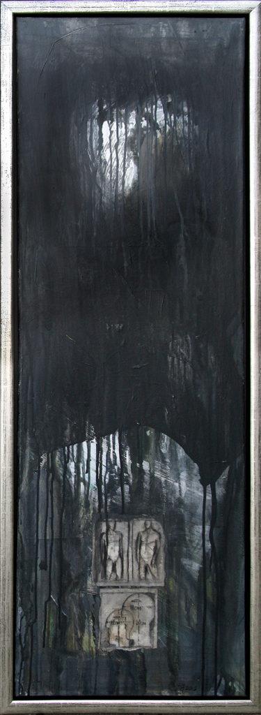Foto af Terese Andersen Maleri 120x40 cm Skyfall