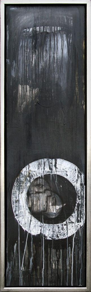 Foto af Terese Andersen Maleri 140x40 cm Tall