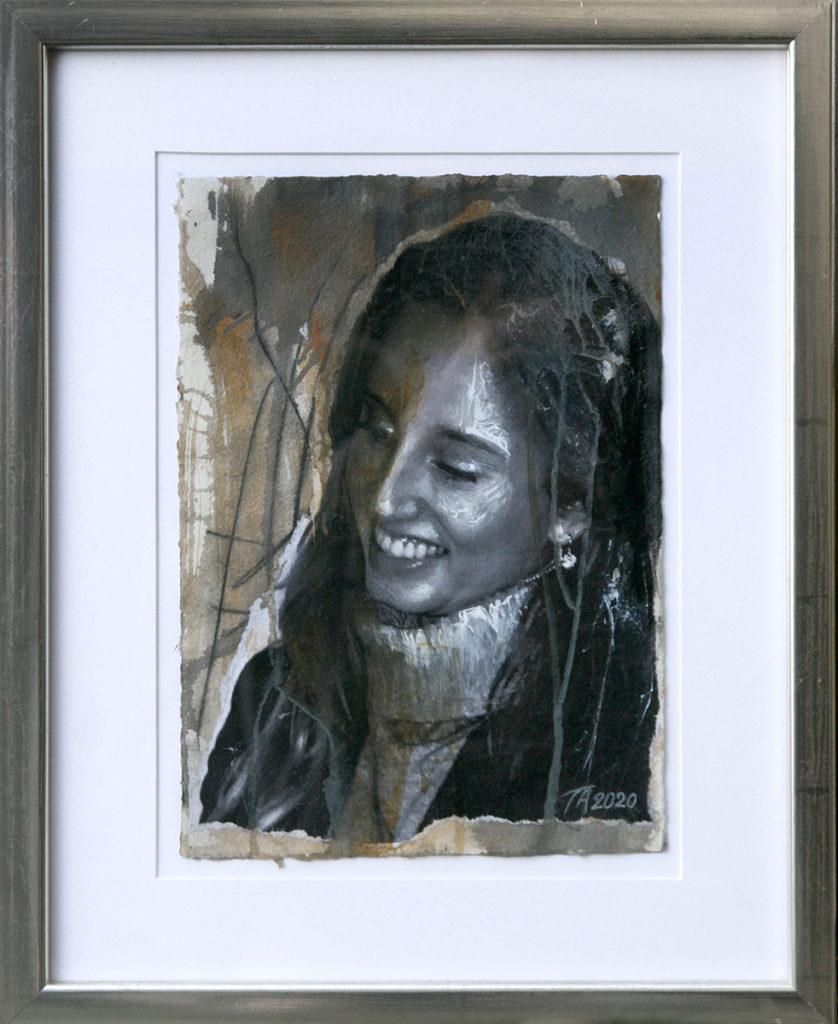 Foto af Terese Andersen Painting 29x21cm Josefine