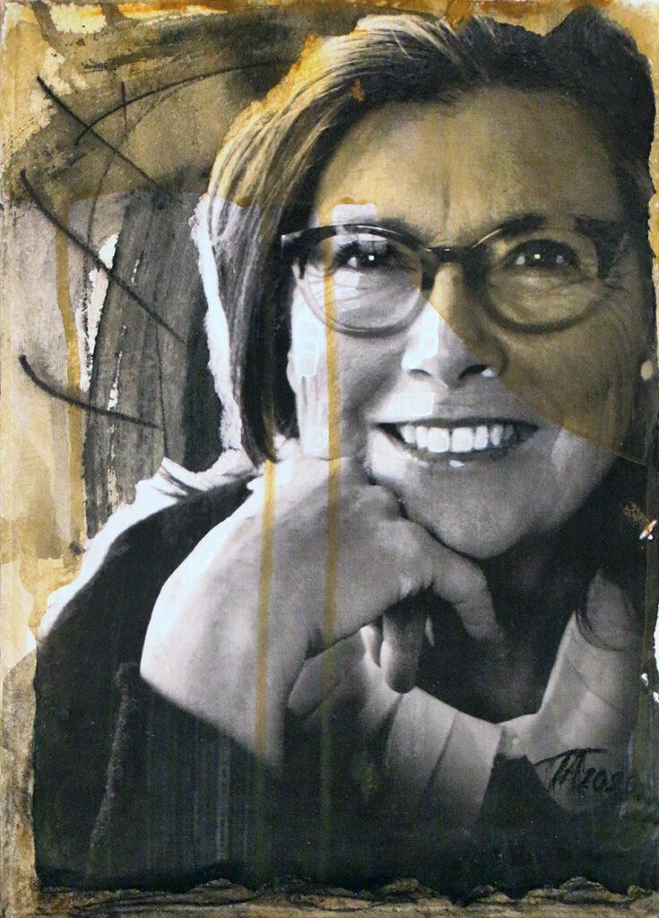 Foto af Terese Andersen Painting 29x21cm Ulla Joensen