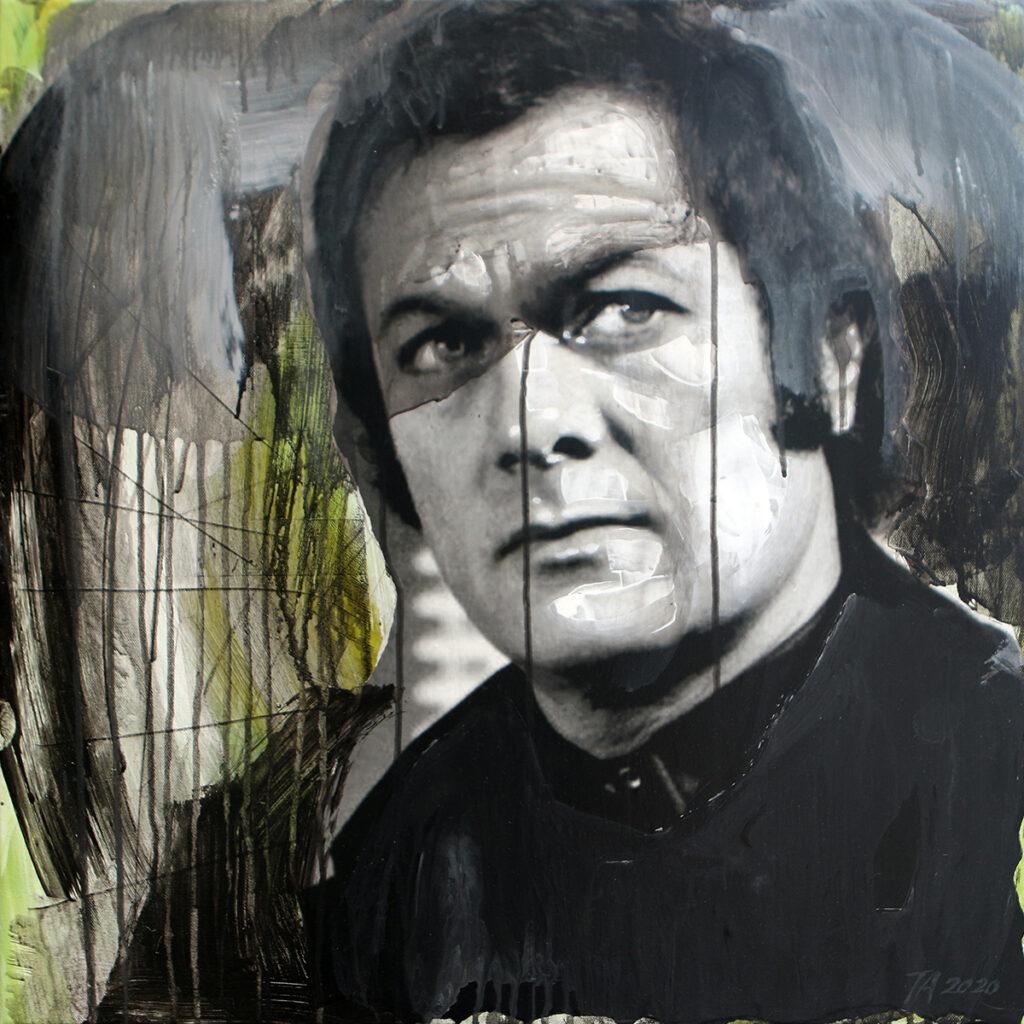 Foto af Terese Andersen Painting 60x60cm Danny Wilde 1