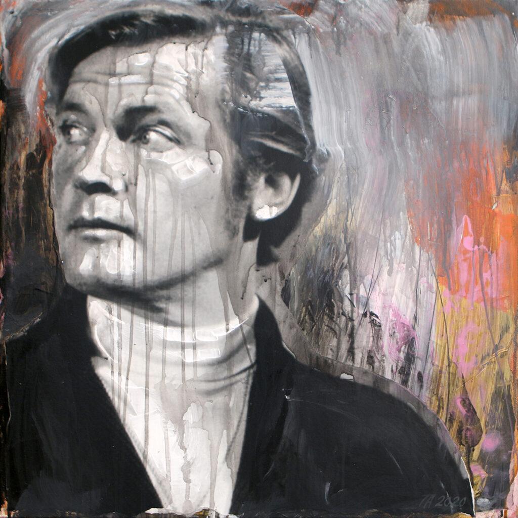 Foto af Terese Andersen Painting 60x60cm Lord Brett Singclair 1