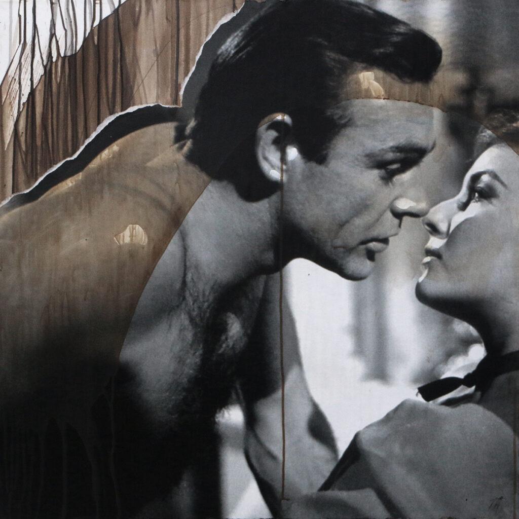 Foto af Terese Andersen Painting 80x80cm Love 007 2