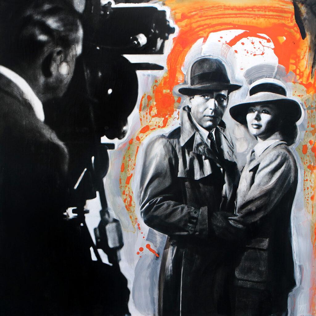 Foto af Terese Andersen Painting 120x120cm Casablanca 1